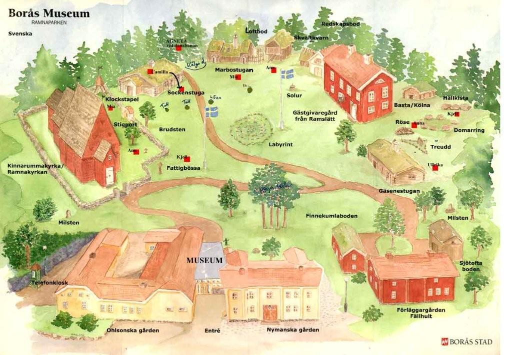 annelundsparken borås karta Friluftsmuseet   Borås Stad annelundsparken borås karta